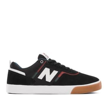 New Balance Numeric 306 Shoes - Black / Rust