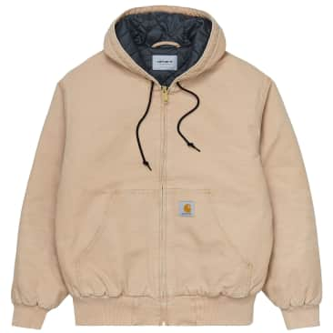Carhartt WIP OG Active Jacket - Dusty H Brown (Aged Canvas)
