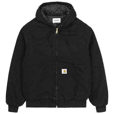 Carhartt WIP OG Active Jacket - Black Aged Canvas