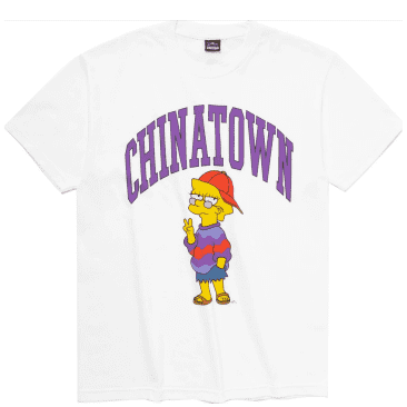 Market Simpsons Like You Know Whatever Arc T-Shirt - White