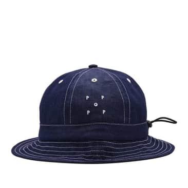 Pop Trading Company Bell Hat - Indigo Denim
