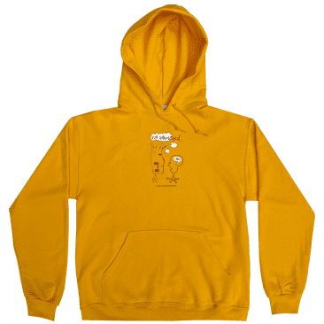 Frog Not Interested Hoodie - Gold