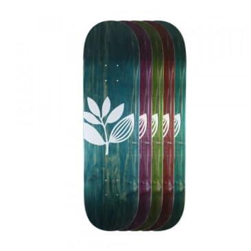 "Magenta Big Plant Team Wood Skateboard Deck - 7.625"""