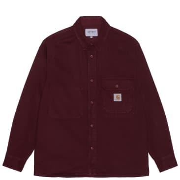 Carhartt WIP Reno Shirt Jack - Jam (Garment Dyed)
