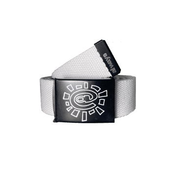 always do what you should do Canvas Belt - White