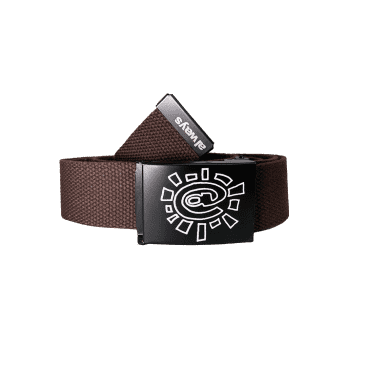 always do what you should do Canvas Belt - Brown