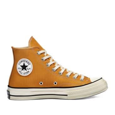 Converse Chuck 70 Classic High Top Shoes - Sunflower / Black / Egret