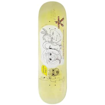 "Frog Cursed (Milic) Skateboard Deck - 8.5"""
