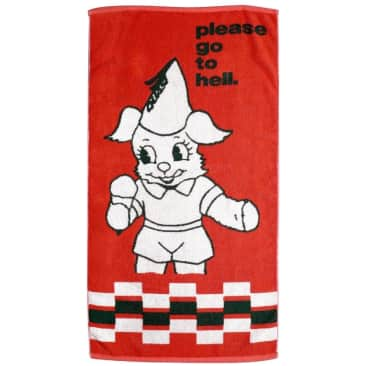 Quasi Go To Hell Towel - Red