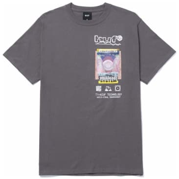HUF Emergency System T-Shirt - Charcoal