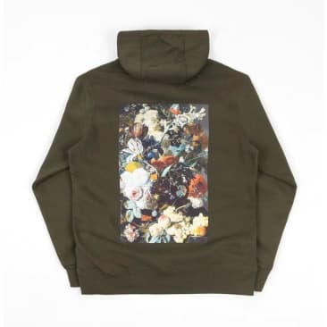 Poetic Collective Classic Flower Hoodie - Green