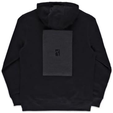 Poetic Collective Box Hoodie - Black / Black