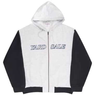 Yardsale Pesci Hoodie - Grey / Washed Navy