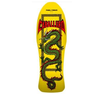 "Powell Peralta Caballero Chinese Dragon Skateboard Deck - 10"""