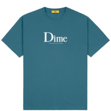 Dime Classic Screenshot T-Shirt - Real Teal