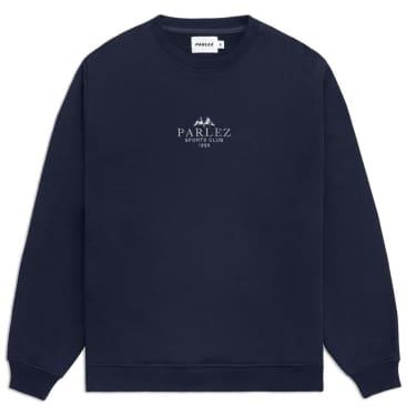 Parlez Sports Club Sweatshirt - Navy