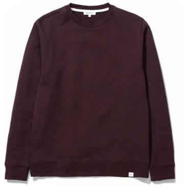 Norse Projects Vagn Classic Crew - Eggplant