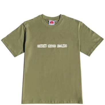 Stingwater Empty Your Mind T-Shirt - Olive Green