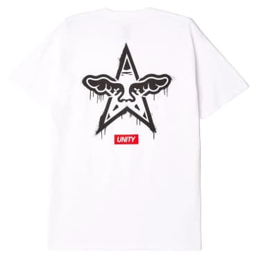OBEY Dface Classic T-Shirt - White