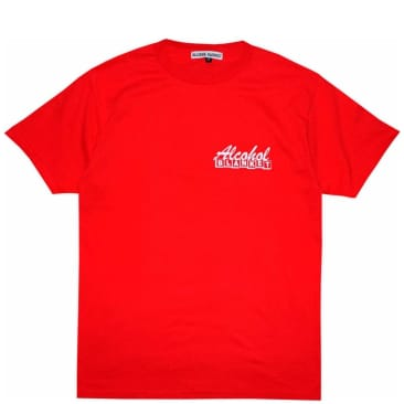 Alcohol Blanket Double Deuce T-Shirt - Red