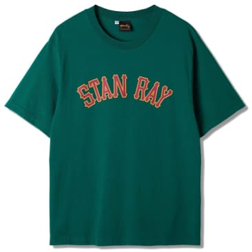 Stan Ray College Graphic T-Shirt - Ivy Green