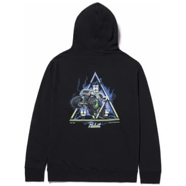 HUF Pabst Triple Triangle Pullover Hoodie - Black