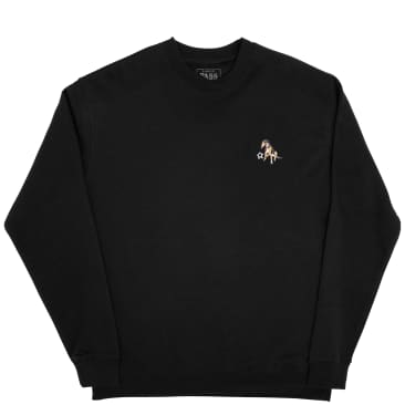 Pass~Port Bobby Embroidered Sweater - Black