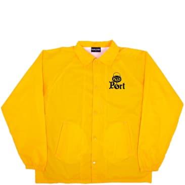 Pass~Port Port Coach Jacket - Gold