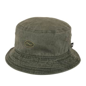 """PASS~PORT """"OVALY"""" BUCKET HAT GREEN"""