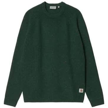 Carhartt WIP Anglistic Sweater - Speckled Grove