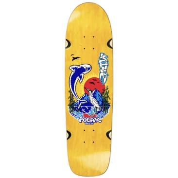 """Polar Shin Sanbongi Mt. Fuji Skateboard Deck (Surf Jr Shape Wheel Wells)- 8.75"""""""
