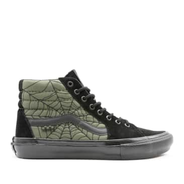 Vans Skate Sk8-Hi Ben Kadow Shoes - Black / Web