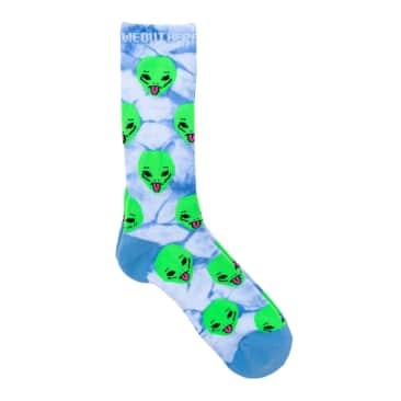 Ripndip We Out Here Socks - Aqua