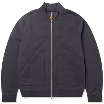 Albam Motormans Pigment Dyed Jacket - Charcoal