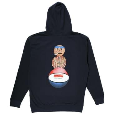 Hopps x Quartersnacks Snackman Hoodie - Navy