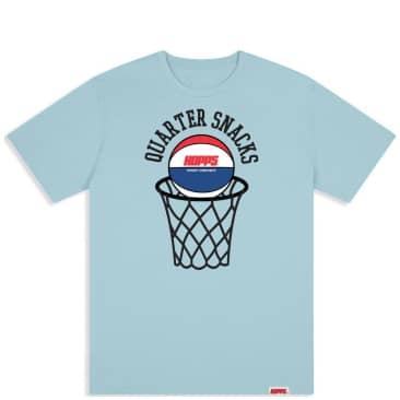 Hopps x Quartersnacks Street Composite T-Shirt - Light Blue