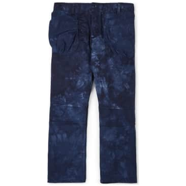 The Wasted Collective Recraft Cargo Pant - Indigo