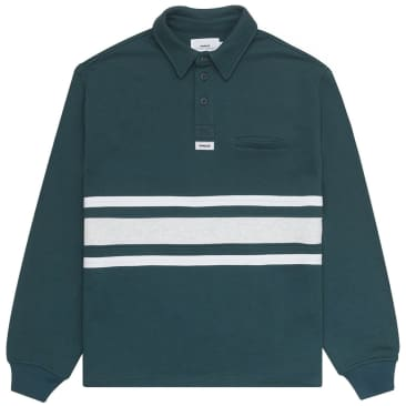 Parlez Prout Rugby Shirt - Deep Teal