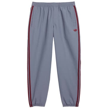 adidas Skateboarding SST Track Pants - Grey / White / Team Victory Red