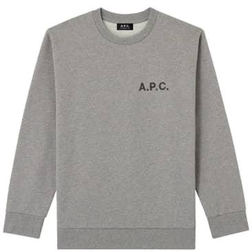 A.P.C. Jimmy Sweatshirt - Grey Heather