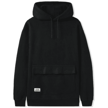 Butter Goods Gore Inside Out Pullover Hoodie - Black