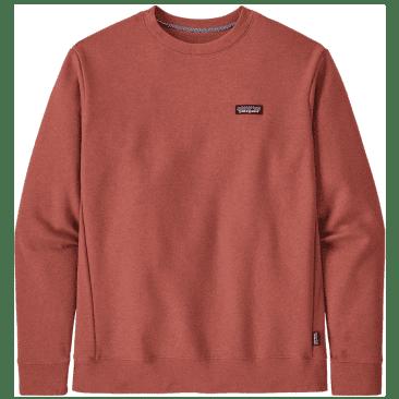 Patagonia P-6 Label Uprisal Crew Sweatshirt - Rosehip