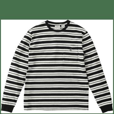 Gramicci One Point Long Sleeve T-Shirt - Black / White