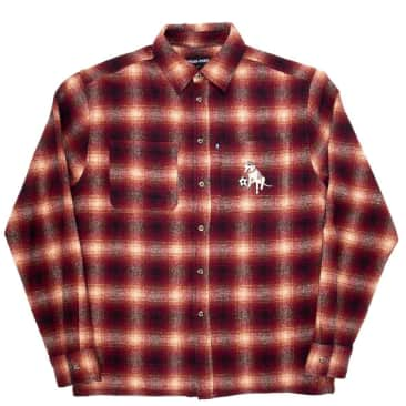 Pass~Port Bobby Flannel - Red