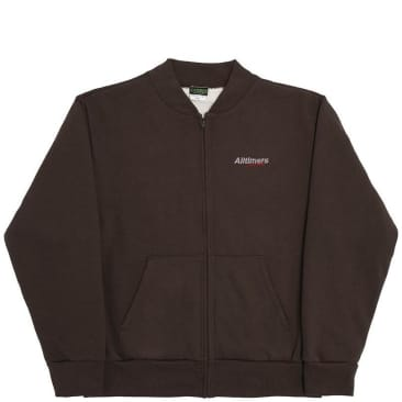 Alltimers Estate Embroidered Thermal Jacket - Brown