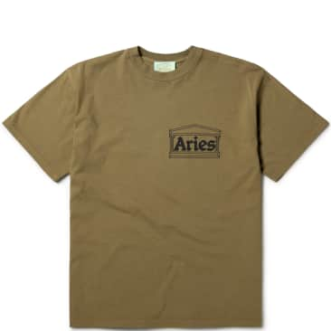 Aries Temple SS T-Shirt - Olive