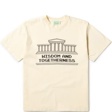 Aries Wisdom and Togetherness SS T-Shirt - Alabaster