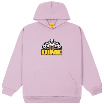 Dime Knowledge Is Power Hoodie - Lavender Frost
