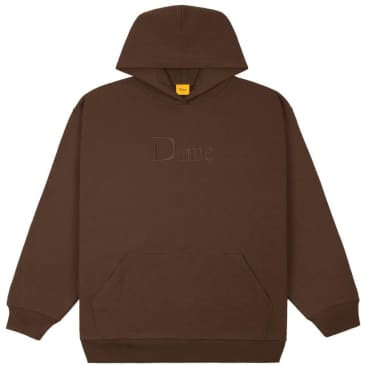 Dime Classic Hoodie - Stray Brown