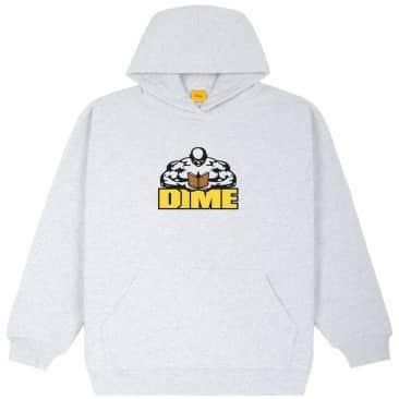 Dime Knowledge Is Power Hoodie - Ash